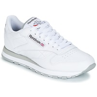 Sko Lave sneakers Reebok Classic CL LEATHER Hvid