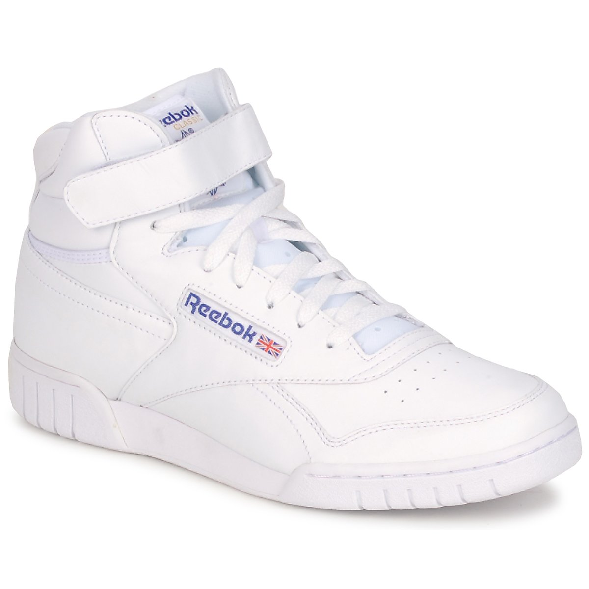 Se Sneakers Reebok Classic  EX-O-FIT HI ved Spartoo