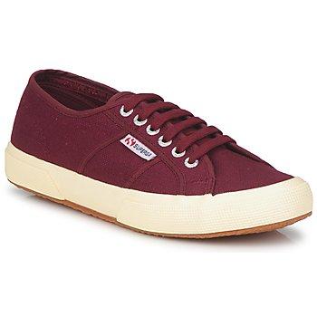 Sko Lave sneakers Superga 2750 COTU CLASSIC Mørk / Bordeaux