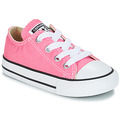 Sko Pige Lave sneakers Converse CHUCK TAYLOR ALL STAR CORE OX Pink