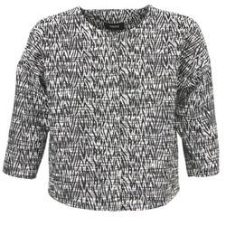 textil Dame Jakker / Blazere Mexx MX3002331 Sort / Hvid