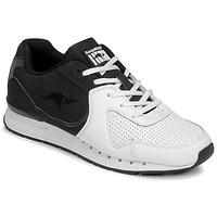 Sko Herre Lave sneakers Kangaroos COIL-R2 TONE Hvid / Sort
