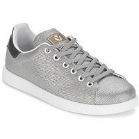 Sko Dame Lave sneakers Victoria DEPORTIVO BASKET TEJIDO FANT Sølv
