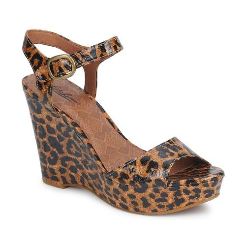 Sko Dame Sandaler Lucky Brand LINDEY Luksus / Leopard