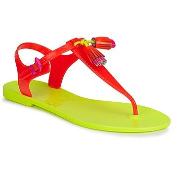 Sko Dame Sandaler Juicy Couture WISP Neon / Orange