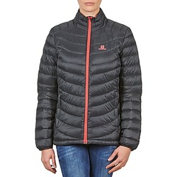 textil Dame Dynejakker Salomon Jacket HALO DOWN JACKET W BLACK Sort