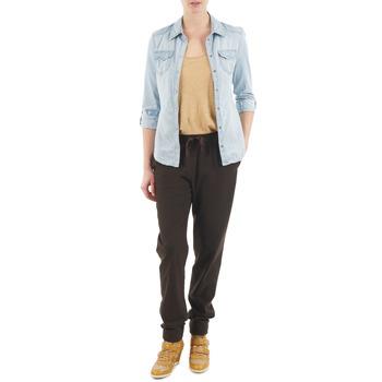 textil Dame Løstsiddende bukser / Haremsbukser Bensimon BRODY Brun