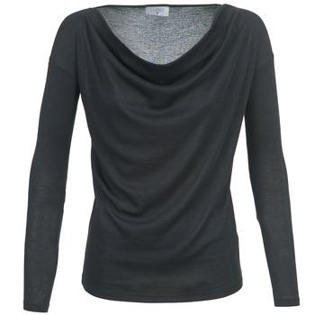 textil Dame Langærmede T-shirts Casual Attitude DELINDA Sort