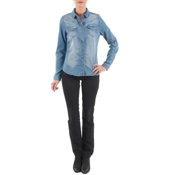 textil Dame Lige jeans Diesel MYBOY TROUSERS Sort