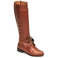 Sko Dame Chikke støvler Fericelli MAURA Kamel