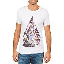 textil Herre T-shirts m. korte ærmer Eleven Paris BERLIN M MEN Hvid