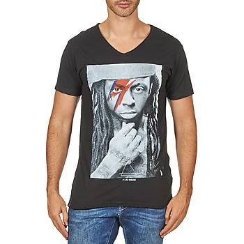 textil Herre T-shirts m. korte ærmer Eleven Paris KAWAY M MEN Sort
