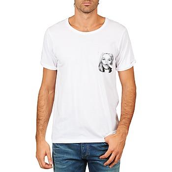 textil Herre T-shirts m. korte ærmer Eleven Paris KMPOCK MEN Hvid