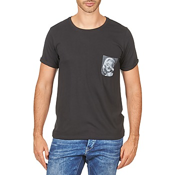 textil Herre T-shirts m. korte ærmer Eleven Paris MARYLINPOCK MEN Sort