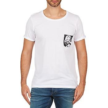 textil Herre T-shirts m. korte ærmer Eleven Paris MARYLINPOCK MEN Hvid