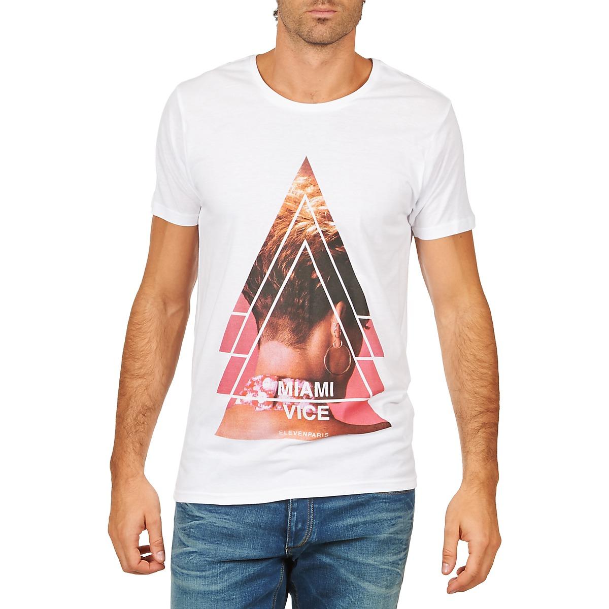 T-shirts m. korte ærmer Eleven Paris  MIAMI M MEN