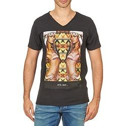 textil Herre T-shirts m. korte ærmer Eleven Paris N35 M MEN Sort