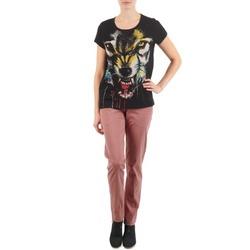 textil Dame Chinos / Gulerodsbukser Eleven Paris PANDORE WOMEN Pink