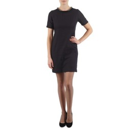 textil Dame Korte kjoler Eleven Paris TOWN WOMEN Sort
