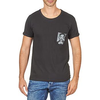 textil Herre T-shirts m. korte ærmer Eleven Paris WOLYPOCK MEN Sort