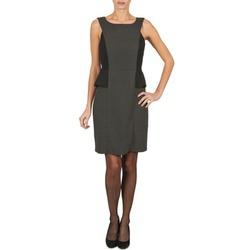 textil Dame Korte kjoler Manoukian PEPLUM Sort