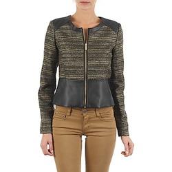 textil Dame Jakker / Blazere Manoukian QUEELT Sort / Gylden