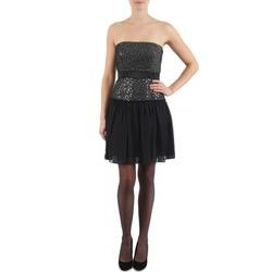 textil Dame Korte kjoler Manoukian JENNI Sort
