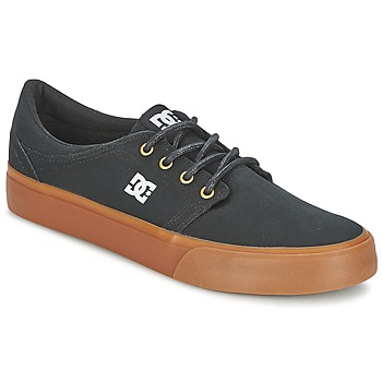 Sko Herre Lave sneakers DC Shoes TRASE TX Sort / Gylden