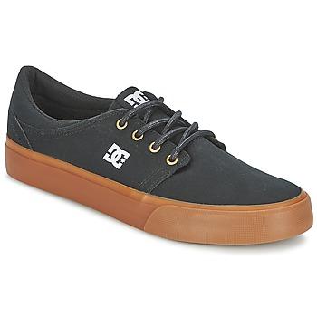Sko Herre Lave sneakers DC Shoes TRASE TX Sort / GYLDEN