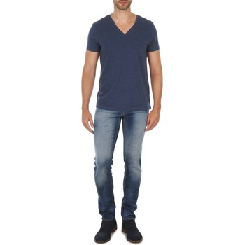 textil Herre Lige jeans Meltin'pot MARTIN Blå