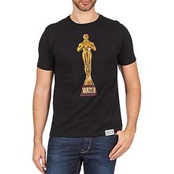 textil Herre T-shirts m. korte ærmer Wati B TSOSCAR Sort