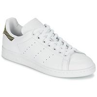 Sko Dame Lave sneakers adidas Originals STAN SMITH Hvid