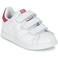 Sko Pige Lave sneakers adidas Originals STAN SMITH CF I Hvid