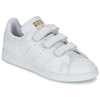 Sko Lave sneakers adidas Originals STAN SMITH CF Hvid