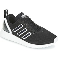 Sko Herre Lave sneakers adidas Originals ZX FLUX RACER Sort