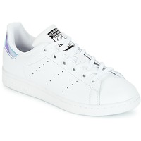 Sko Pige Lave sneakers adidas Originals STAN SMITH J Hvid