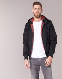 textil Herre Jakker Harrington HARRINGTON HOODED Sort