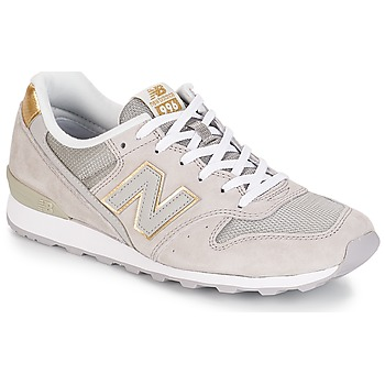 Sko Dame Lave sneakers New Balance WR996 Beige