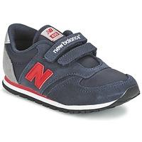 Sko Børn Lave sneakers New Balance KE420 Marineblå / Rød
