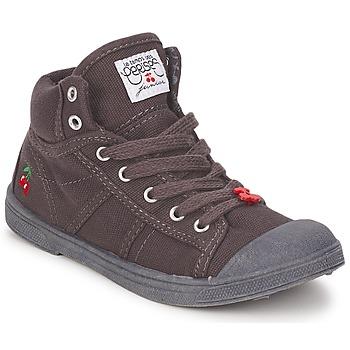 Sko Børn Høje sneakers Le Temps des Cerises BASIC-03 KIDS Brun