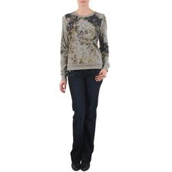 textil Dame Bootcut jeans Freeman T.Porter DEBBY STRETCH DENIM Blå