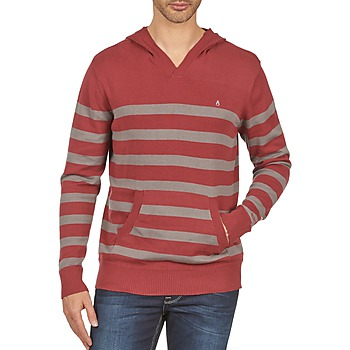 textil Herre Sweatshirts Nixon MCKOY SWEATER MEN'S Bordeaux