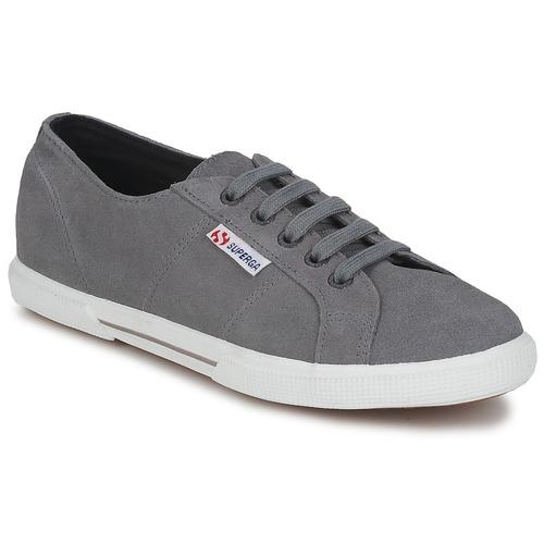 Sko Lave sneakers Superga 2950 Grå