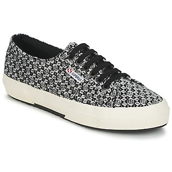 Sko Dame Lave sneakers Superga 2750 FANTASY Sort / Hvid