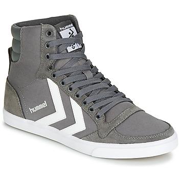 Sko Høje sneakers Hummel TEN STAR HIGH Grå / Hvid