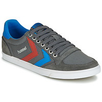 Sko Herre Lave sneakers Hummel TEN STAR LOW CANVAS Grå / Blå / Rød