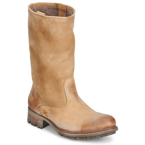 Sko Dame Chikke støvler n.d.c. VALLEE BLANCHE KUDUWAXOIL/DFA Brun