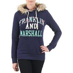 textil Dame Sweatshirts Franklin & Marshall COWICHAN Marineblå