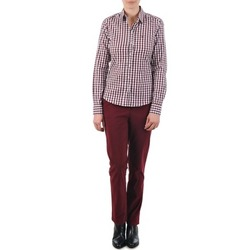 textil Dame Chinos / Gulerodsbukser Gant C. COIN POCKET CHINO Bordeaux