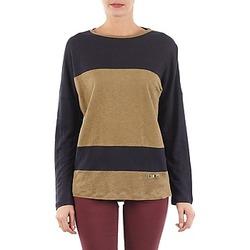 textil Dame Langærmede T-shirts TBS POOL Blå / BEIGE